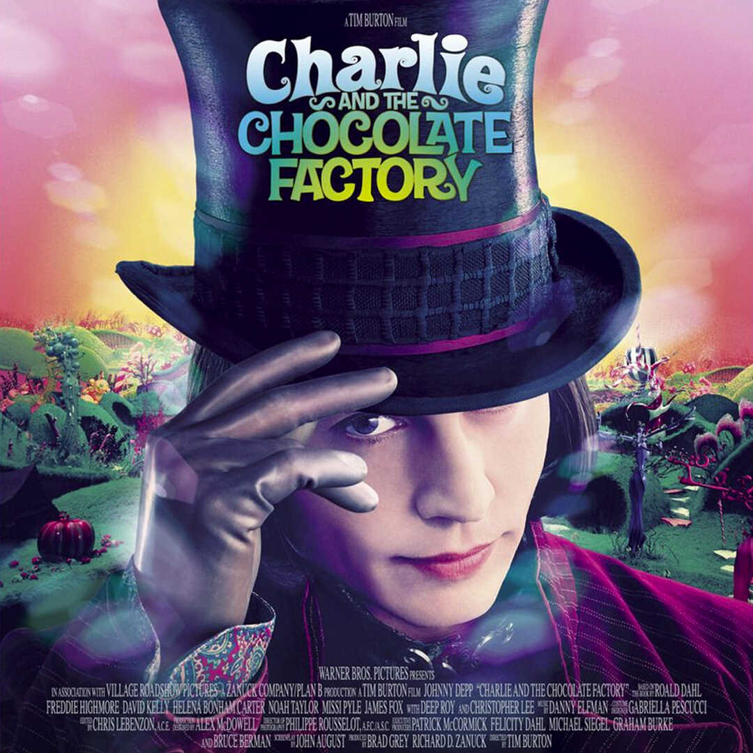 Charlie And The Chocolate Factory (Çarli'nin Çikolata Fabrikası)  resmi