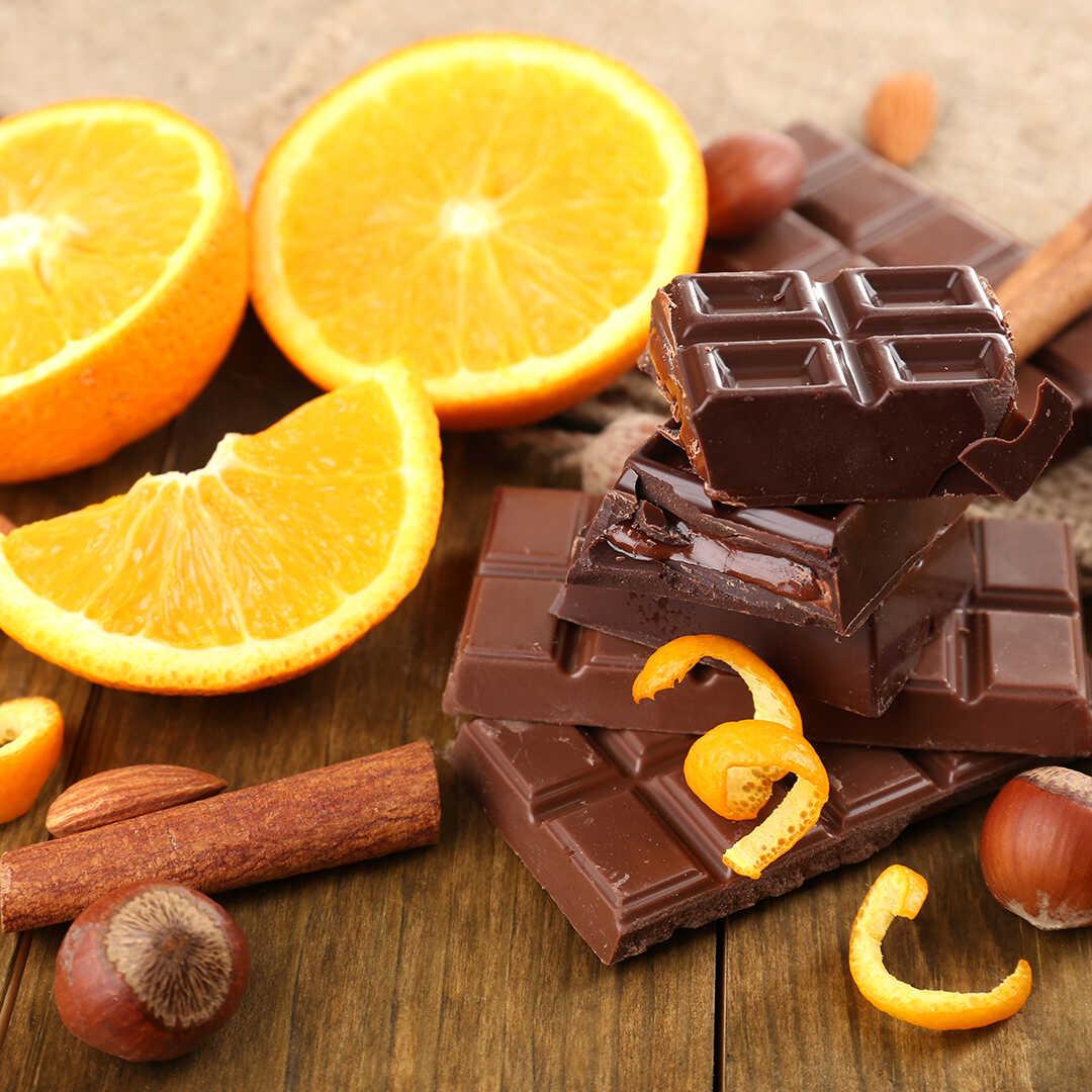 фотографией картинки апельсин и шоколад вот